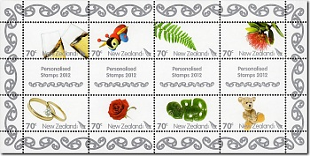2012 Personalised Stamps