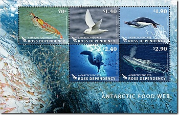 2013 Ross Dependency Antarctic Food Web