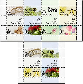 2014 Personalised Stamps