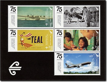 2015 75th Anniversary of Air New Zealand, NAC and TEAL
