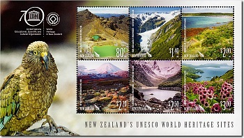 2015 New Zealand's UNESCO World Heritage Sites